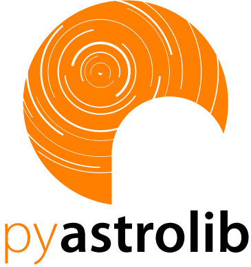 The pyAstroLib Logo